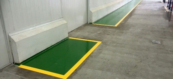 1000 CS Green_1000 CS Yellow_PM 550 Clear Warehouse application