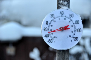Cold Weather Thermometer